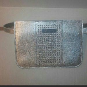 Michael Kors Accessories - Michael Kors silver studded belt bag